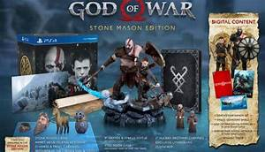 God Of War Stone Mason Edition Available For Pre Order