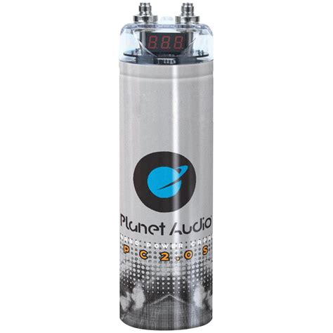 Boat Stereo Capacitor by Planet Audio Pc2 0s 2 0 Farad Capacitor With Digital