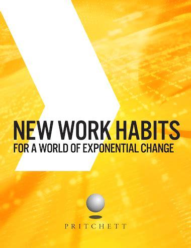 work habits change management leadership training