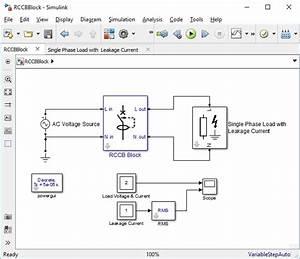 Single Phase Residual Current Circuit Breaker Block
