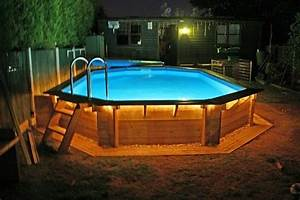 Above Ground Pool Rope Lighting Above Ground Pool Deck Ideas Awesome Wooden Deck Above