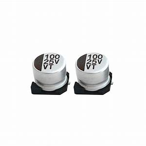 Surface Mount Chip Capacitor Guide 25v 100uf Size 8 6 5mm