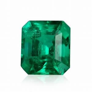 3.37 carat, Green, COLOMBIAN Emerald, Emerald Shape, GRS ...  Emerald
