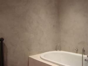 douche en tadelakt et enduit decoratif salle de bains With enduit salle de bain