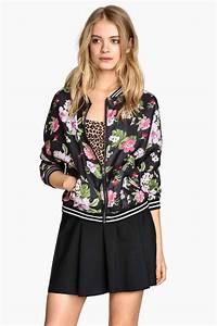 des vestes femme pour le printemps shopping girl With affiche chambre bébé avec veste bomber femme fleuri