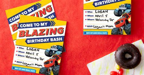 Blaze Birthday Party Invitations | Nickelodeon Parents