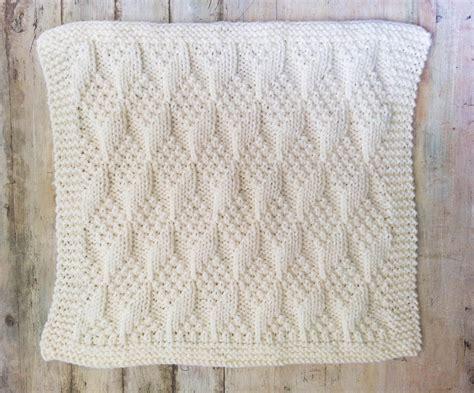 Knitting Pattern Baby Blanket Bulky Yarn Modern Baby Fabrics For Blankets Engraved Baby Knit Wool Blanket California King Size Crochet Girl Infant Car Seat Pattern Kids Snuggle Dutch