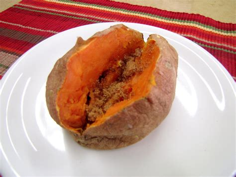 cooking sweet potatoes in microwave microwave sweet potato or baked potato food and nutrition