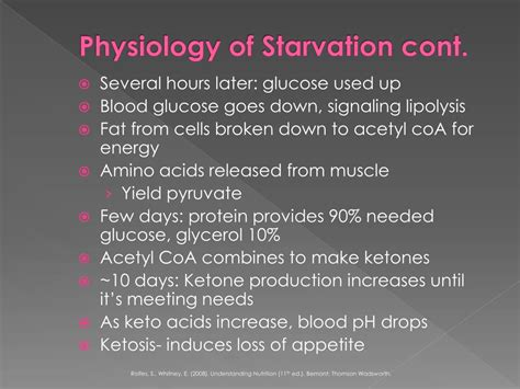 starvation  refeeding syndrome powerpoint