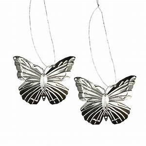 Deko Schmetterlinge Groß : deko schmetterlinge zum h ngen silber 5cm 36st gro handel und lagerverkauf ~ Yasmunasinghe.com Haus und Dekorationen