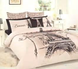 eiffel tower bedding eiffel tower beige brown black quilt
