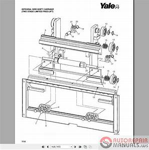 Auto Repair Manuals  Yale Forklift Parts Manuals New Models