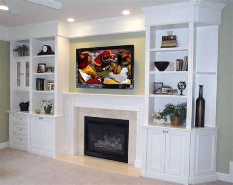 built in shelves around tv   built in shelving, tv over