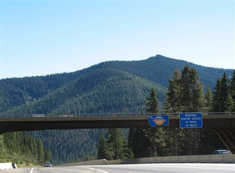 interstate  east mineral county aaroads montana