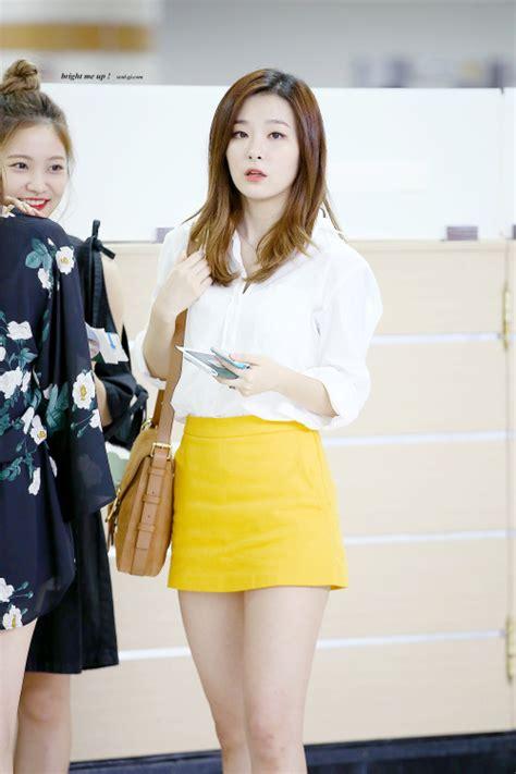 RED VELVETu0026#39;S SKIRT FASHION LOOKS - Kpop Korean Hair and Style