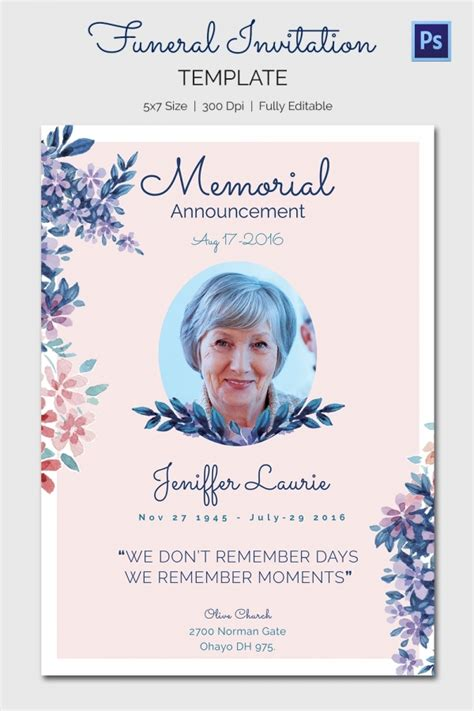 funeral service template memorial service flyer template free templates resume exles klynjz3yko