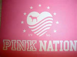 Victoria Secret Pink Nation Logo