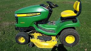 2011 John Deere X300 Lawn  U0026 Garden And Commercial Mowing