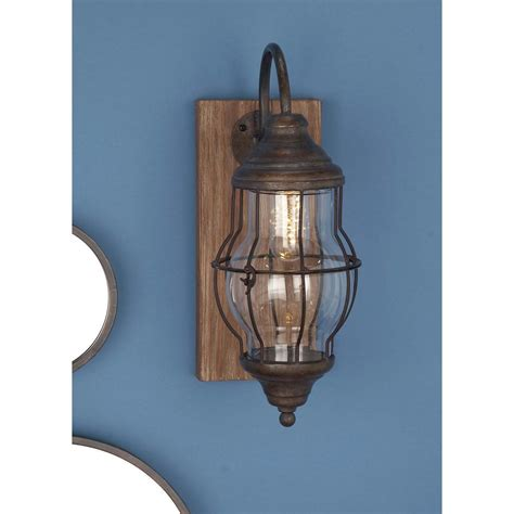 iron wall sconce 36 in x 9 in traditional black iron and glass candle