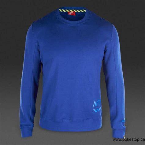 Spring/Summer 2018 Mens Clothing - Nike Sportswear RU Crew - Deep Royal Blue / Game Royal ...