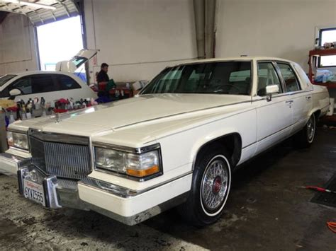 1991 Cadillac Brougham Parts by 1991 Cadillac Fleetood Brougham D Elegance Classic