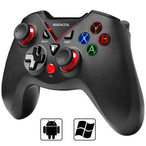 beboncool bluetooth game controller  vibration shot function  android phonetablettv box