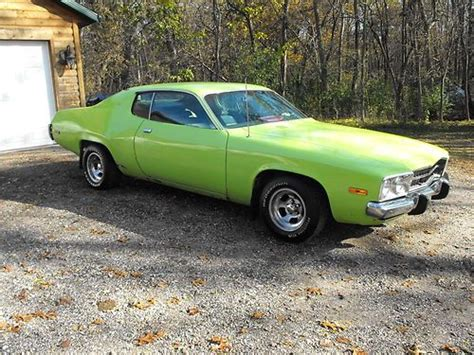 find used 1973 plymouth road runner satellite muscle car 64k miles very rare clean title in