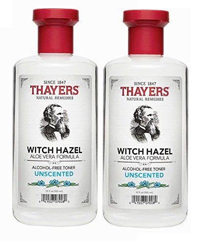 where do you find witch hazel thayer s alcohol free unscented witch hazel with aloe vera 2 pack health world each