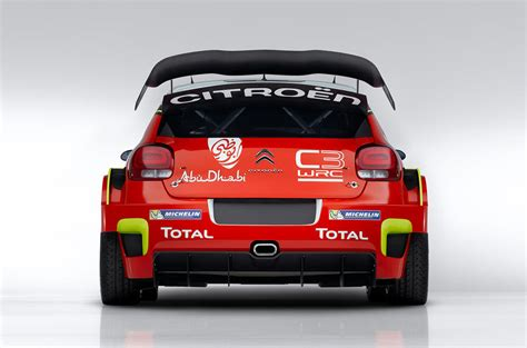 Citroen C3 Wrc Revealed Ahead Of 2017 World Rally