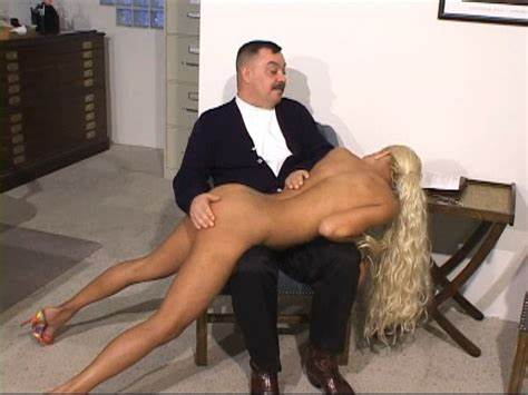 Com Office Caning For Teen