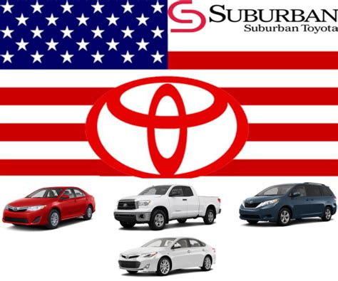 toyota american models toyota dominates cars com 39 s top 10 39 american made 39 index