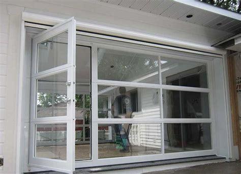 convert garrage door to windows best 25 glass garage door ideas on industrial garage door shop doors and