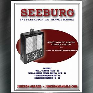 Seeburg Installation And Instructions Manual Covers Wall