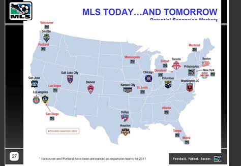 Expansion Mls Teams Map