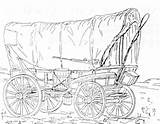 Wagon Coloring Trail Oregon Covered Drawing Conestoga Horse Prairie Plans Pages Thompson Schooner Wagons Printable Getdrawings Getcolorings Print Civil War sketch template
