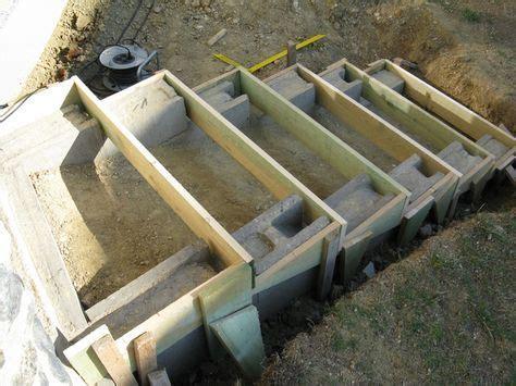 Aussentreppe Selber Bauen by Eine Treppe Aus Stahlbeton Gartenbau Selber Gemacht