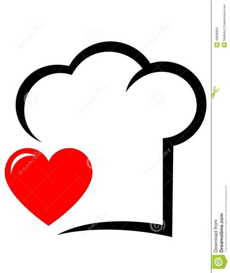 cap cuisine 1 an icon with chef hat and stock vector image 48838905