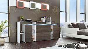 Tv Sideboard Weiß Hochglanz : sideboard tv board anrichte kommode lissabon v2 wei in hochglanz naturt nen ebay ~ Orissabook.com Haus und Dekorationen