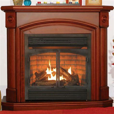 fireplace propane heater ventless heater fireplace gas propane lp mantel ebay