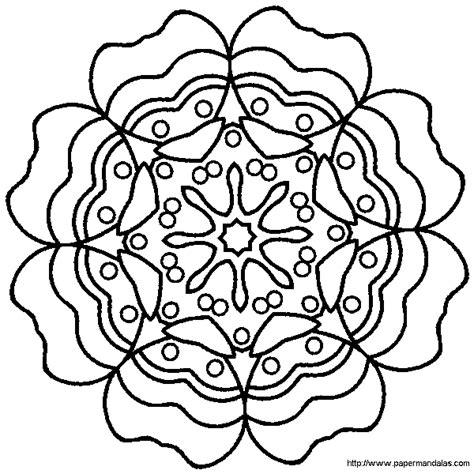 Kleurplaat Hartjes Mandala by Mandala Kleurplaten Valentijn