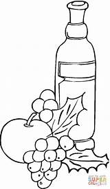 Wine Grape Coloring Grapes Pages Printable Drawing Template Getdrawings Jug Ancient Sketch sketch template