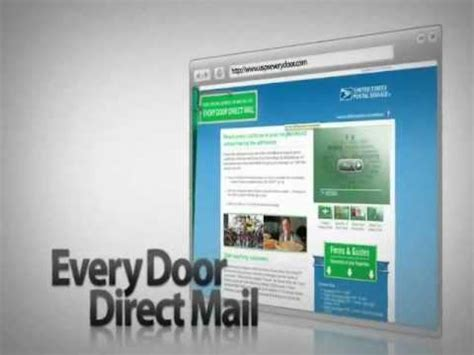 every door direct every door direct mail for small business
