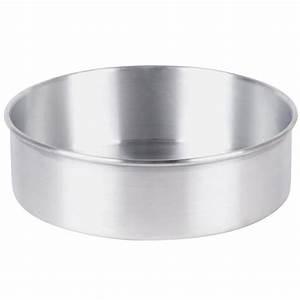"10"" x 3"" Round Aluminum Cake Pan"