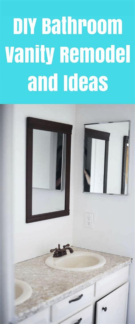 modern diy bathroom vanity ideas  reveal clarks condensed