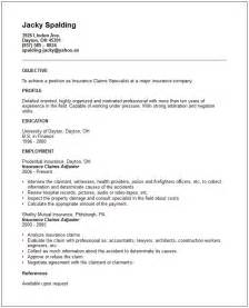 Insurance Adjuster Resume Summary by Healthy