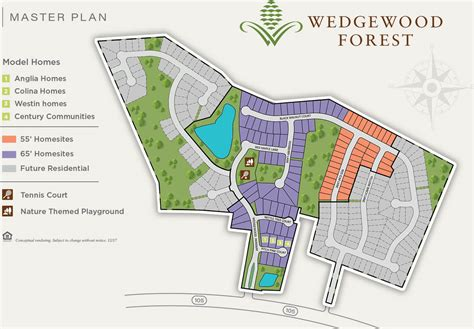 Master Plan  Wedgewood Forest