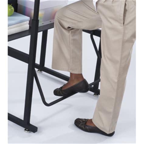 standing desk foot rest stand up classroom student desk adjustable height laptop