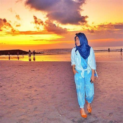 Outfit Hijab Untuk Ke Pantai