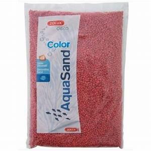 Acheter Coloration Rouge Framboise : sable rouge framboise aquarium aquasand color pour poisson zolux auberdog ~ Melissatoandfro.com Idées de Décoration