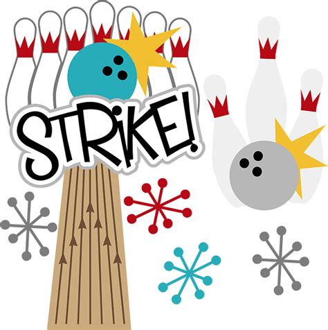 free bowling clipart bowling strike clip cliparts co